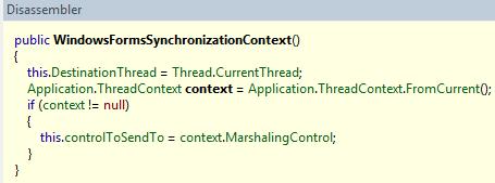 WindowsFormsSynchronizationContext