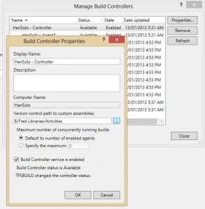 Custom Build Manage Controller